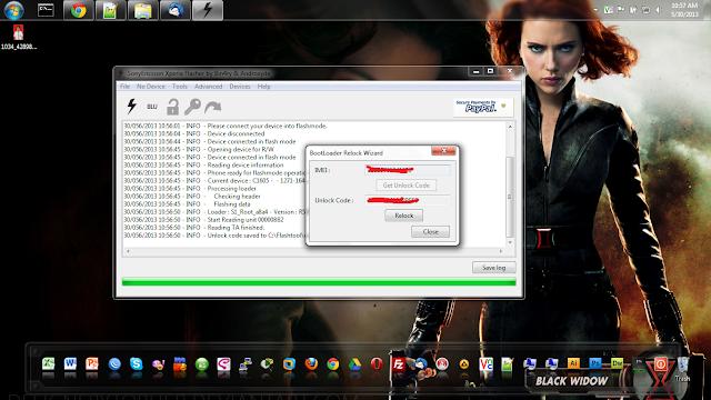 Unlock Bootloader Sony XPERIA
