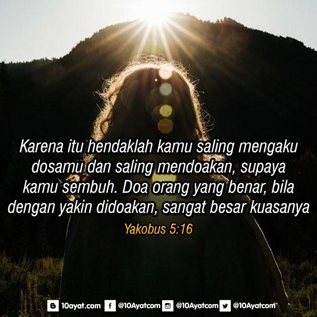 Yakobus 5:16