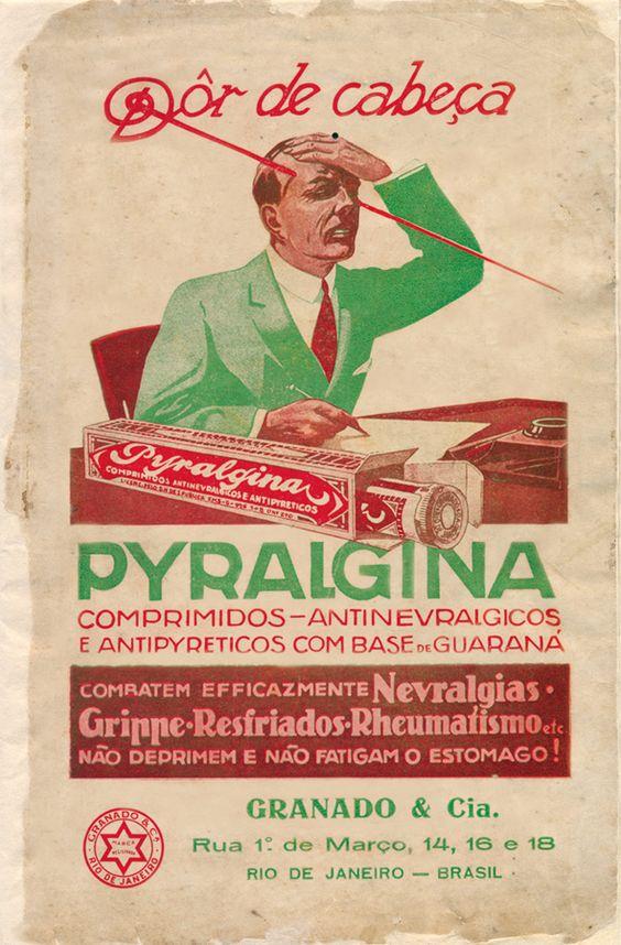 Granado apresentou seu analgésico em meados dos anos 40 por meio de campanha publicitária