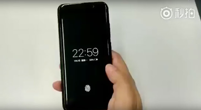 Vivo_Sensor_Huella_Digital So it works a SmartPhone with fingerprint integrated in the display, and it is not of Apple ... [Video] Technology