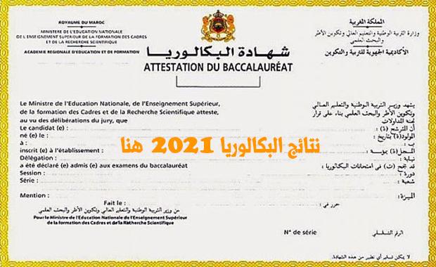 taalim.ma جميع نتائج البكالوريا 2021 بالمغرب