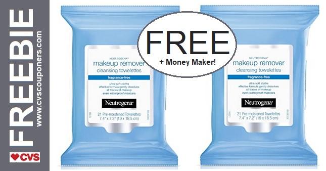 FREE Neutrogena Makeup Remover Wipes 1-24-1-30