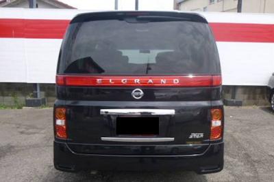Eksterior Nissan Elgrand E51 Facelift