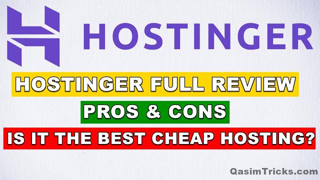 Hostinger Review (2021) - Hostinger details, pricing and features