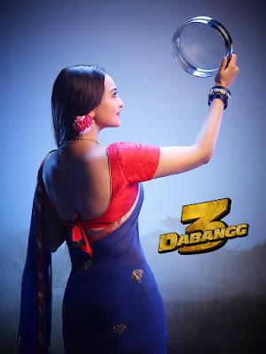 Dabangg 3 poster of sonakshi sinha