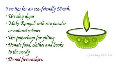 eco-friendly diwali wishes