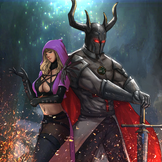 A warrior of steel, a witch from underworld: Cover Update & Blurb Featured Image