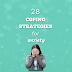 28 coping strategies for anxiety