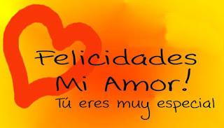 felicidades mi Amor te amo