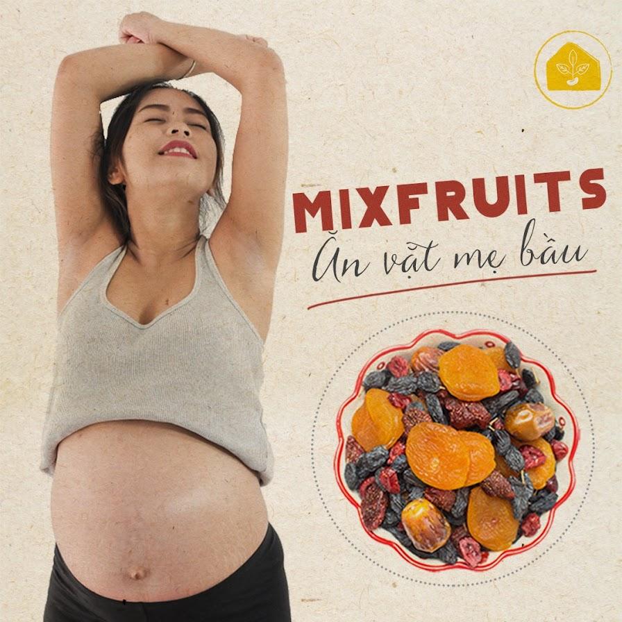 [A36] Mixnuts ăn vặt tốt cho Mẹ Bầu và thai nhi