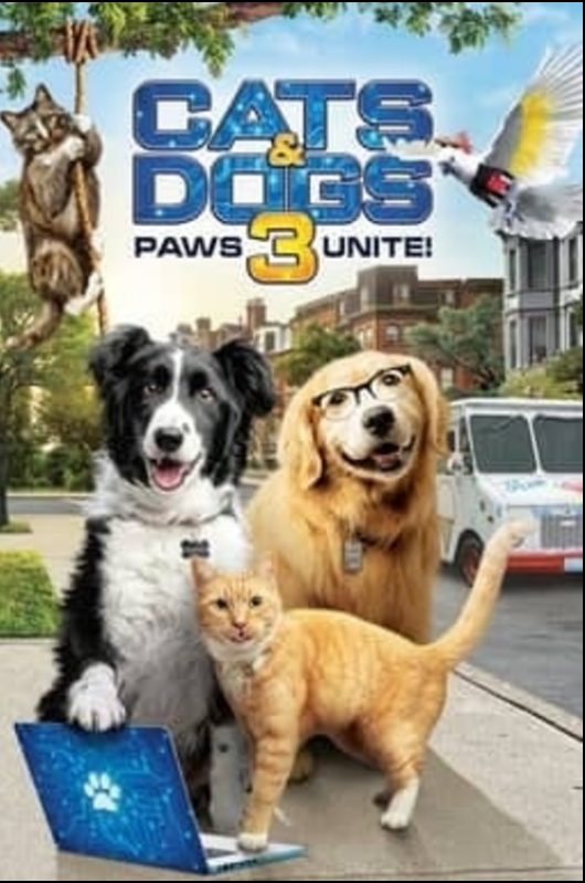 MOVIE: Cats & Dogs 3 Paws Unite (2020)
