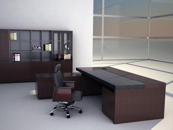Mẫu bàn giám đốc bằng gỗ tự nhiên