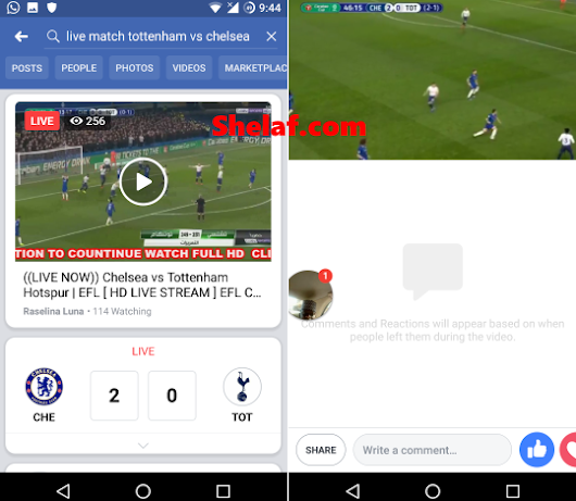 How to Stream Live Football Matches On Facebook