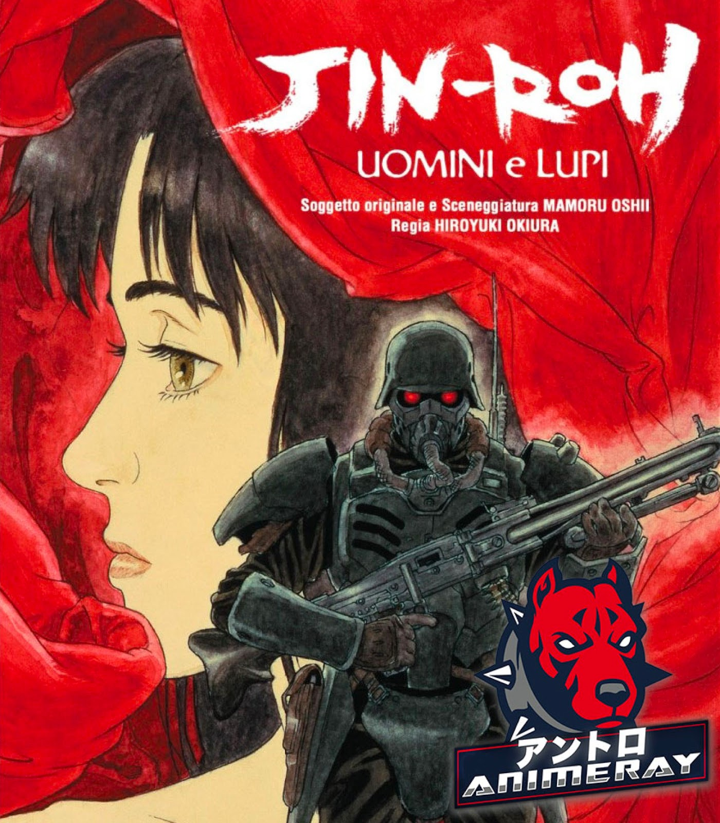Jin-Roh Uomini Lupi blu-ray recensione
