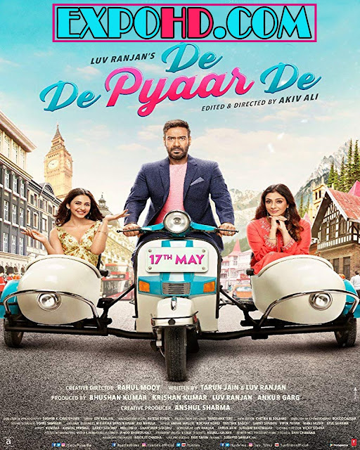 De De Pyaar De 2019 Movie Full HD 720p | Esub 1.2Gbs [Watch & Download Here]
