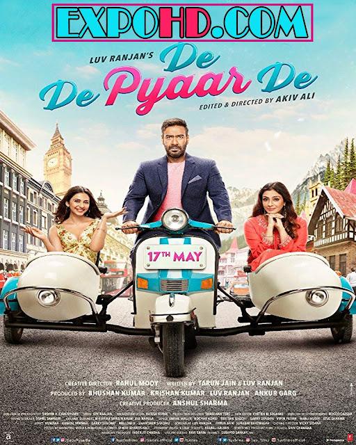 De De Pyaar De 2019 Movie Full HD 720p | Esub 1.2Gbs [Watch & Download Here]
