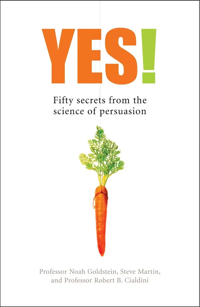Yes 50 Secrets From The Science of Persuasion Book In Hindi
