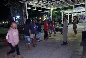Diamankan Karna Pesta Miras di Alun-alun dan Tak Patuhi Protokoler