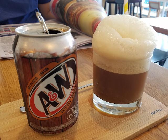 Lorna, Ferntree Gully, root beer float