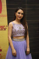 Actress Dhriti Pos in Purple Lehnga Lehenga Choli at Keshava Telugu Movie Audio Launch .COM 0010.jpg