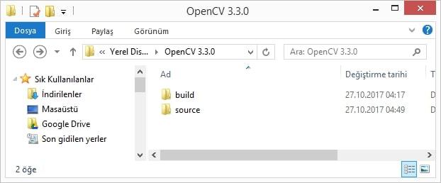 Windows'da Ek Modüller ile OpenCV Derleme ve Yükleme (Visual