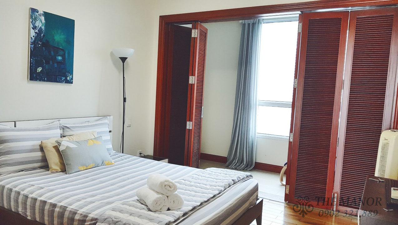 Căn hộ The Manor 2 phòng ngủ cho thuê 80m2 block F tầng thấp - hình 6