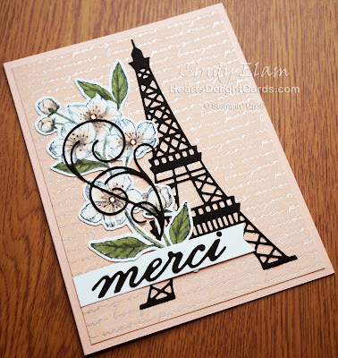 Heart's Delight Cards, Parisian Beauty, Forever Blossoms, Thank You, Merci, 2020 Jan-June Mini Catalog, Stampin' Up!