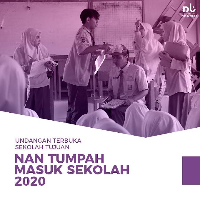 Undangan Terbuka Sekolah Tujuan Nan Tumpah Masuk Sekolah 2020