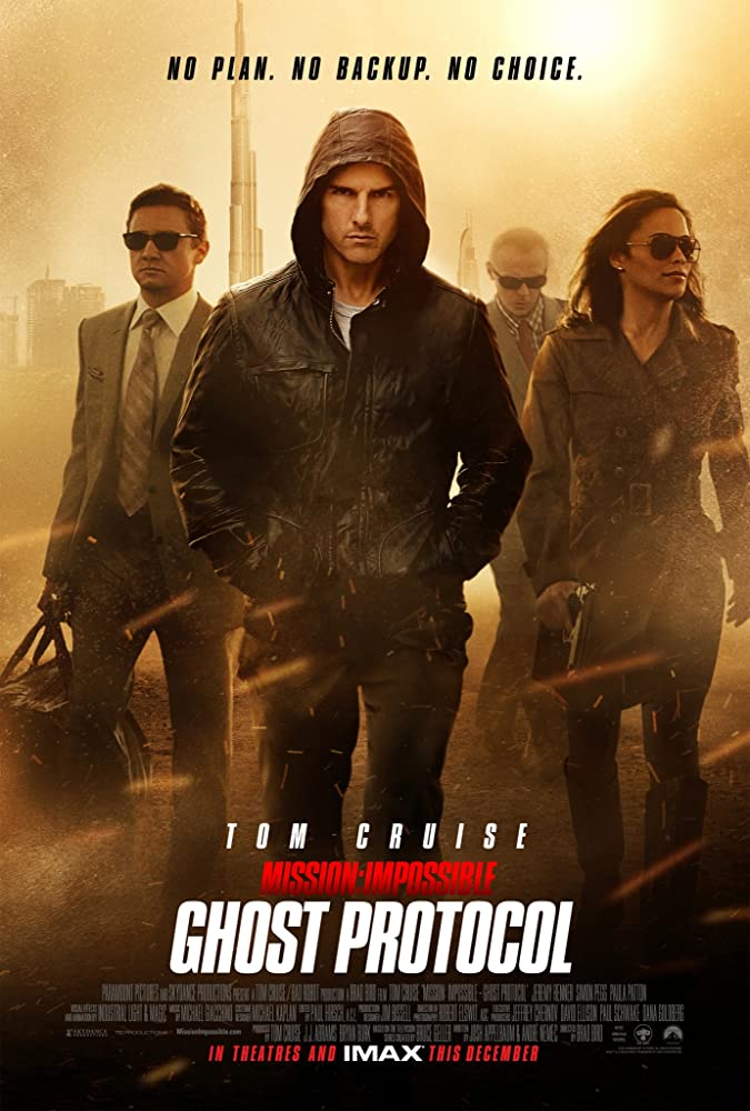 Mission: Impossible – Ghost Protocol 2011
