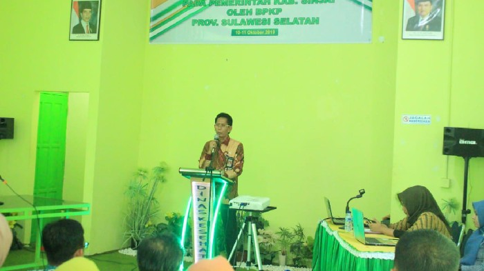BPKP Fraud Risk Assessment di Sinjai, Suryanto Asapa Sebut Semua Kegiatan Akan Dibedah