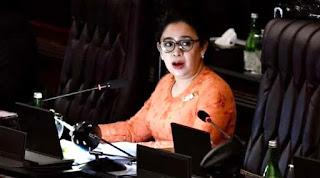 Momen Ketika Puan Tercyduk Matikan Mikrofon Anggota yang Protes RUU Cipta Kerja