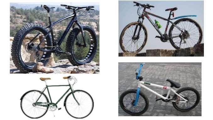 Types of bike