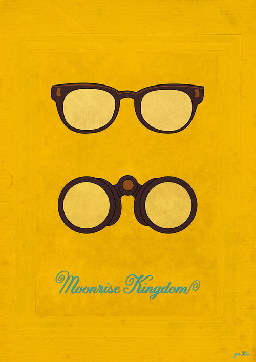 Moonrise Kingdom Minimal Posters