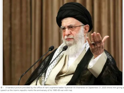 Khamenei says the war with Iraq has proved that Iran can defend itself