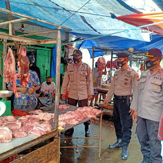 Minimalisir Penyebaran Covid 19, Polres Pelabuhan Makassar terus lakukan Patroli Operasi Yustisi
