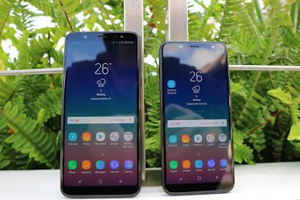 Perbedaan Samsung Galaxy A6 dan Samsung Galaxy A6+