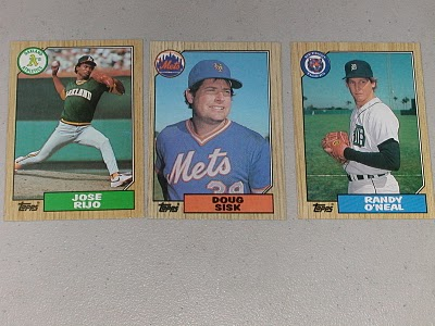 Review Spew Collecting The 1987 Topps Wood Grain Baseball