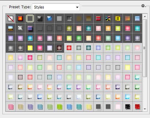 Tổng Hợp Một Số Styles Photoshop Đẹp