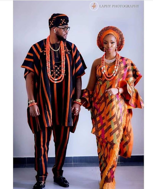 Latest Nigerian traditional wedding attire