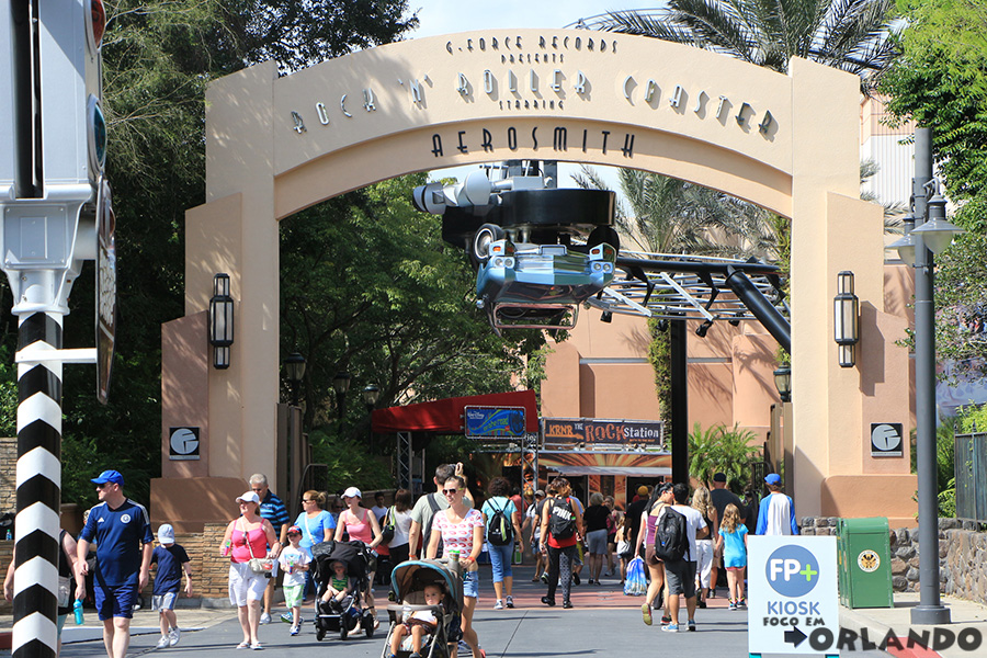 Rock'n'Roller Coaster Starring Aerosmith, Disney's Hollywood Studios, Orlando