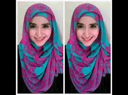 Tutorial Hijab Pashmina Kaos Modern Terbaru
