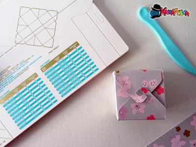 Scatolina porta confetti con punch board gifs box