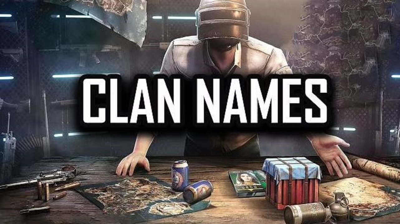 How to Change Clan Names in PUBG Mobile and Top 15 Clan Names Available in the game?