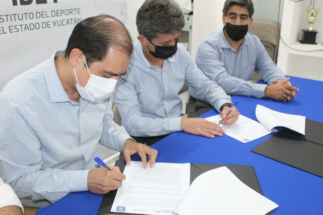 IDEY consolida alianzas para respaldar a las y los atletas de Yucatán