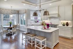 cocina estilo americano barra cocinas decoracion americana desayunar isla nuevo estilos blanca tradicionales barras kitchen clasica living office interior homes