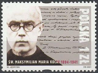 Poland 2001 - St. Maximilian Maria Kolbe