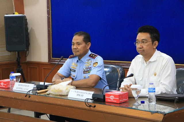 Lima Anggota Wasrik Interim BPK RI Taklimat Awal di Makodiklatau
