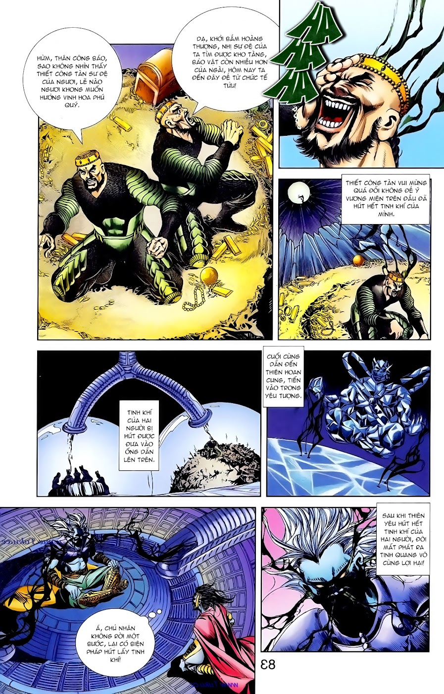 Cơ Phát Khai Chu Bản chapter 101 trang 22