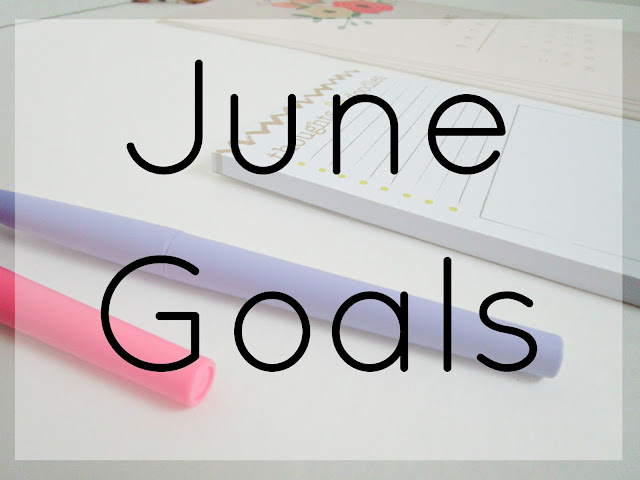 June Goals from Courtney's Little Things