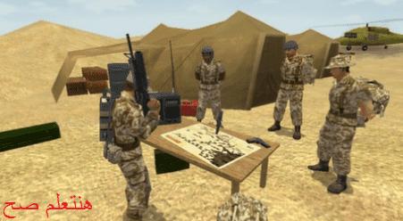 تحميل لعبة عاصفة الصحراء كاملة